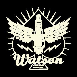 Watson Custom Apparel Zündkerze Hot Rod Punk