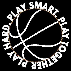 Basketball play hard smart together Geschenk