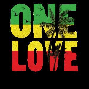 One Love Jamaican T Shirt