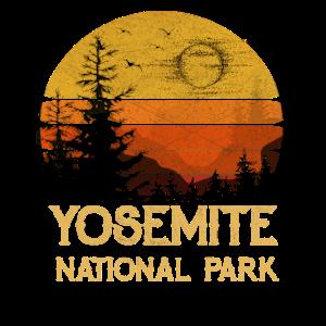 Vintage Yosemite National Park California T Shirt