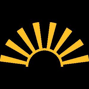 Sonne Strahlen Schön Sonnenaufgang