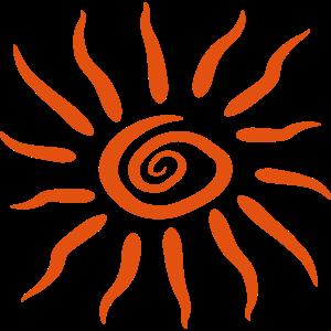 Wirbel Spirale Sonne