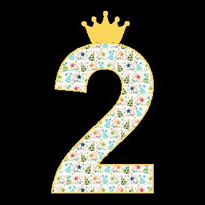 2. Geburtstag Kinder | Geschenk Zwei Jahre Alt