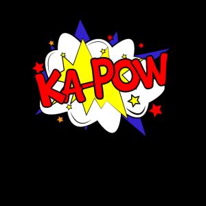 Ka Pow Comic Comicstyle Comicstrip Comic Strip
