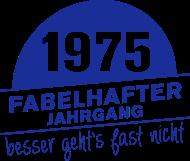 Jahrgang 1970 Geburtstagsshirt: Fabelhafter Jahrgang 1975 geboren
