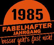 Jahrgang 1980 Geburtstagsshirt: Fabelhafter Jahrgang 1985 geboren