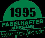 Jahrgang 1990 Geburtstagsshirt: Fabelhafter Jahrgang 1995 geboren