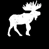 Ich mag nur wirklich Moose Ok Grunge White