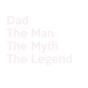 Dad The Man The Myth The Legend Shirt Vatertag
