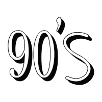 90s nineties 90er Neunziger
