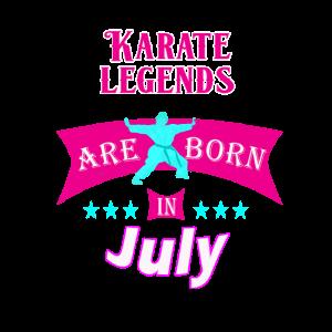 Karate-Legenden Juli