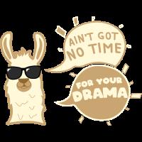 Llama Lama No Prob Drama Geschenk