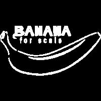 Banane als Maßstab