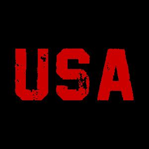 USA - Logo - Slogan - United States of America