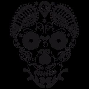 Schädel Grafik design