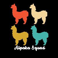 Retro Alpakas