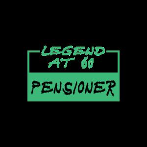 Legend at 60, pensioner - Legende bei 60, Rentnern