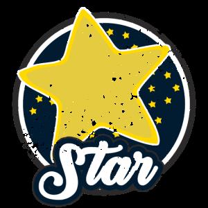 Stern Star Weltraum T-Shirt