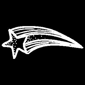 Sternschnuppe Symbol für Träumer