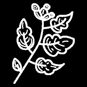 Deko Ast Zeichnung Tattoo Frühling Geschenk Idee