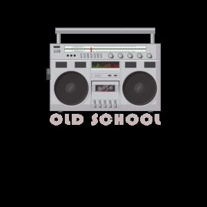 OLD SCHOOL 90er 80er Outfit Ghettoblaster