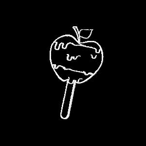 Schokoladen Apfel - Apfel Am Stil