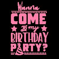 Geburtstagskind Party Feiern Geburtstag Gebbes