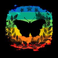 Schmetterling düster gothic