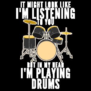 Drummer Lustiger Spruch