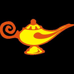 magische Wunderlampe alad