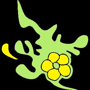 künstlerische Blume 1