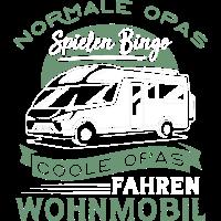 Coole Opas fahren Wohnmobil - Camper