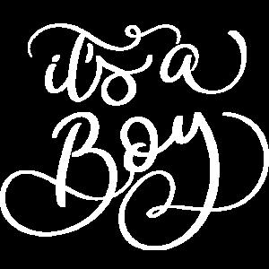 It's a Boy Schriftzug - Babyparty, Baby Shower (2)