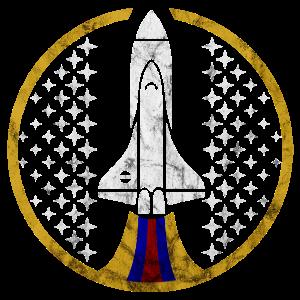 Rakete Weltall