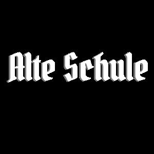 Alte Schule Old School Veteran Altmodisch Pionier