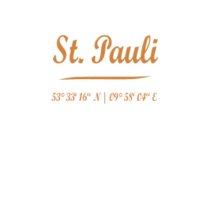 St. Pauli mit Koordinaten Reeperbahn Hamburg