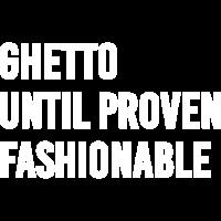 Ghetto bis bewährte modische T-Shirt