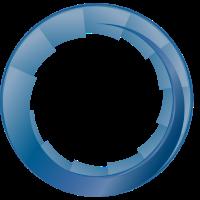 Rosette Blau-Verlauf