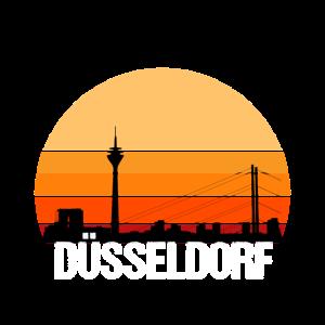 Skyline Düsseldorf Altstadt Rhein Altbier Ddorf
