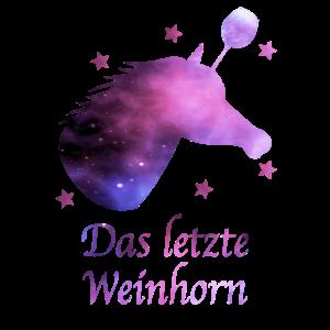 Weinhorn Junggesellinen