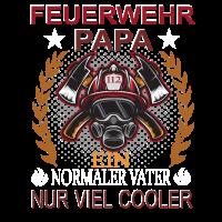 Cooler Feuerwehr Papa Shirt - Vatertag Geschenk