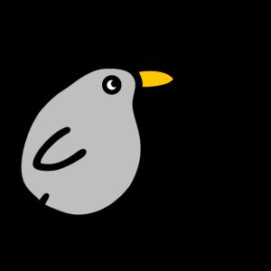 Lebensfreude mit Musik Singender Pfeifender Vogel