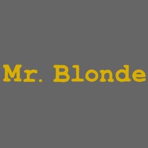 Mr Blonde