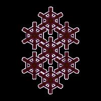 Goa Festival Shirt Heilige Geometrie Tattoo Muster