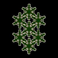 Goa Party Shirt Heilige Geometrie Muster Mandala