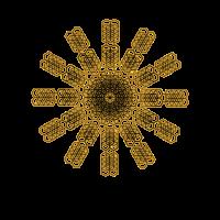 Mandala Goa Shirt Heilige Geometrie Tattoo Muster