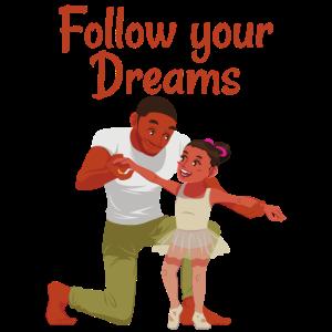 Folge deinen träumen Kindheit kinderbild