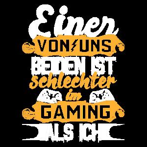 Gaming Spruch - Gamer Geschenk