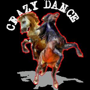 verrückte Tanzpferde