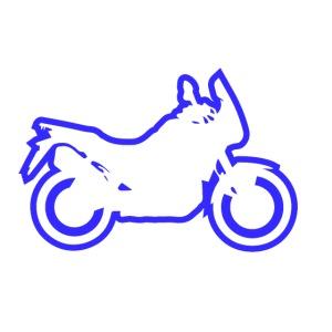 at symbolik blau